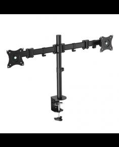 "Logilink BP0022 Dual Monitor Desk mount, 13""-27"", arm 428mm"