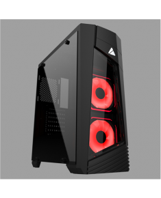 AZZA Blaze 231G Side window, Black, ATX, Power supply included No