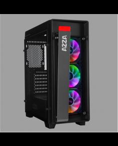 AZZA Obsidian 270 Side window, Black, ATX, Power supply included No, 3 x 120mm RGB Fans