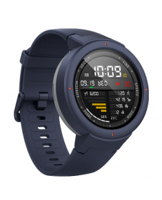 Amazfit Smart Watch Verge Activity Tracker, Touchscreen, Bluetooth, Heart rate monitor, Blue, GPS (satellite), Blue,