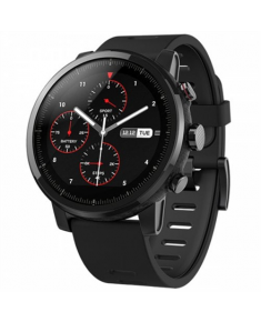 Amazfit Smart Watch STRATOS 2S Wi-Fi, Activity Tracker, Touchscreen, Bluetooth, Heart rate monitor, Black, GPS (satellite), Black, Waterproof, 50 m