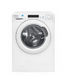 Candy Washing Machine CS34 1262D3-S Front loading, Washing capacity 6 kg, 1200 RPM, A+++, Depth 34 cm, Width 60 cm, White, LED, Display, NFC,