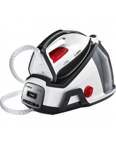 Bosch EasyComfort Steam Station TDS6041 White/Black, 2400 W, 1.5 L, 5.8 bar, Vertical steam function, Calc-clean function