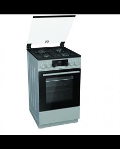Gorenje Cooker K5341SJ Hob type Gas, Oven type Electric, Inox, Width 50 cm, Electronic ignition, Grilling, LED, 62 L, Depth 60 cm