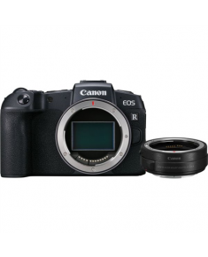"Canon Hybrid Camera EOS RP Body + MT adapter Megapixel 26.2 MP, ISO 50-102400, Display diagonal 3.0 "", Wi-Fi, Setting on the lens; Focus peaking is included, CMOS, Black"