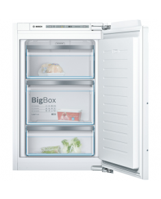 Bosch Freezer GIV21AF30 Upright, Height 87 cm, Total net capacity 97 L, A++, Freezer number of shelves/baskets 3, White, Built-in