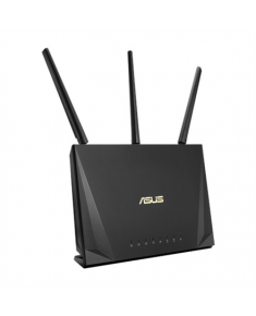 Asus Gaming Router RT-AC65P 802.11ac, 450+1300 Mbit/s, 10/100/1000 Mbit/s, Ethernet LAN (RJ-45) ports 4, MU-MiMO Yes, Antenna type 3xExternal/1xInternal, USB ports quantity 1xUSB 3.1 Gen1, Parental Control, HD streaming and online gaming, ASUS QoS, AiRadar 2.0, AiDisk, VPN Client and VPN Server