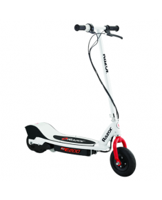 "Razor 8 "", E200, Electric Scooter, 200 W, 19 km/h, 24 month(s), White/Red"