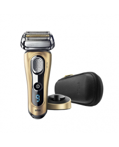 Braun Men's Electric Foil Shaver 9299s Series 9 Wet use, Rechargeable, Charging time 1 h, Li-Ion, Battery, Golden