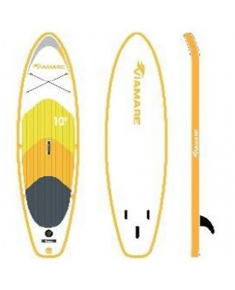 Viamare Inflatable SUP Board, 330 cm, 160 kg, Yellow, with SUP Paddle