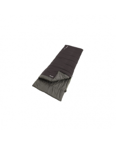 Outwell Celebration Lux, Sleeping bag, 225 x 80 cm, 8/4/-10 °C, Black
