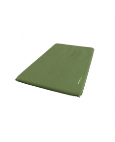 Outwell  Dreamcatcher Double, Self-inflating mat, 75 mm, Green