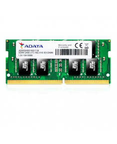 ADATA 8 GB, DDR4, 2400 MHz, Notebook, Registered No, ECC No