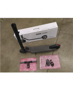 SALE OUT. Ninebot by Segway Kickscooter ES2 - Dark Grey Segway Kickscooter ES2 Dark Grey, 3 month(s), USED, REFURBISHED, SCRATCHED, WITHOUT ORIGINAL PACKAGING, WITHOUT HEXAGON WRENCH
