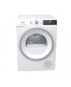Gorenje Dryer machine DA83IL/I Heat pump, Condensation, 8 kg, Energy efficiency class A+++, Number of programs 14, White, LED, Depth 62.5 cm, Display,