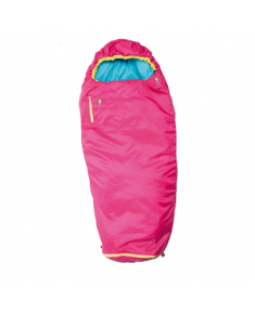 Gruezi-Bag Kids Colorful grow, Sleeping bag, 140-180x65(45) cm, Rose