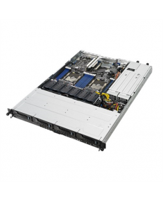"Asus RS500-E9-RS4 Rack (1U), Intel Xeon Scalable Processors Family, RDIMM DDR4, 2666 MHz, No RAM, No HDD, Up to 4 x 2.5"" or 3.5"", Hot-swap hard drive bays, 80 PLUS Platinum, Power supply 2x770 W, Intel I350-AM2, ASUS Control Center, Warranty ARS 36 month(s)"