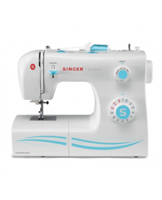 Singer SMC 2263/00  Sewing Machine Singer 2263 White, Number of stitches 23 Built-in Stitches, Number of buttonholes 1, Automatic threading
