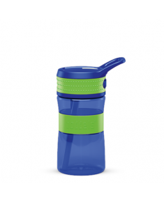 Boddels EEN Drinking bottle Bottle,  Apple green/Blue, Capacity 0.4 L, Bisphenol A (BPA) free