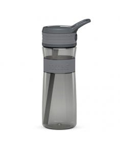 Boddels EEN Drinking bottle Bottle, Light grey/Grey, Capacity 0.6 L, Bisphenol A (BPA) free