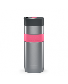 Boddels KOFFJE Travel mug Raspberry red, Capacity 0.37 L, Dishwasher proof, Yes