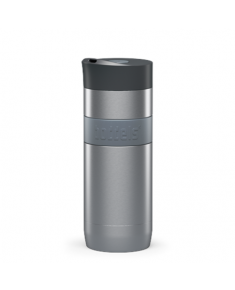Boddels KOFFJE Travel mug Light grey, Capacity 0.37 L, Dishwasher proof, Yes