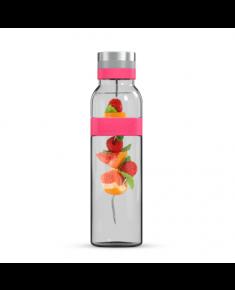 Boddels SUND Glass carafe Raspberry red, Capacity 1.1 L, Dishwasher proof, Bisphenol A (BPA) free