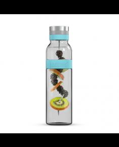 Boddels SUND Glass carafe Turquoise blue, Capacity 1.1 L, Dishwasher proof, Bisphenol A (BPA) free