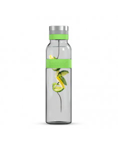 Boddels SUND Glass carafe Apple green, Capacity 1.1 L, Dishwasher proof, Bisphenol A (BPA) free