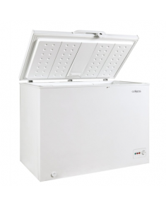 Goddess Freezer GODFTE0300WW9 Chest, Height 85 cm, Total net capacity 301 L, A++, Freezer number of shelves/baskets 1, White, Free standing