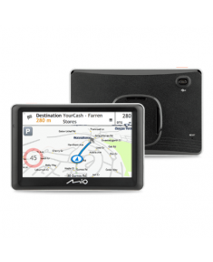 "Mio Car navigation Spirit 7700 5"" touchscreen, GPS (satellite), Maps included"