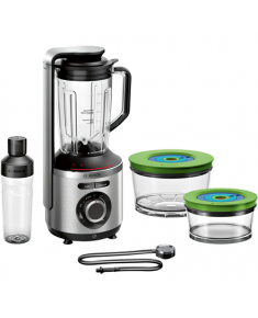 Bosch Blender VitaMaxx is a 2-in-1 MMBV625M Stainless steel, 1000 W, Plastic, 1.5 L, Ice crushing, Type Stand blender, 37000 RPM