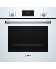 Bosch Oven HBF113BV0S Built-in, 66 L, White, A, Mechanical, Height 60 cm, Width 60 cm, Integrated timer, Electric
