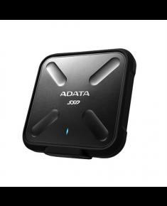 ADATA External SSD SD700 1000 GB, USB 3.1, Black