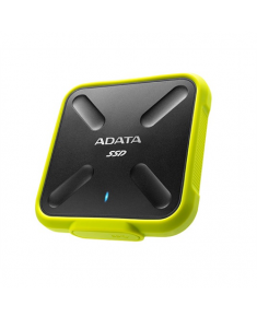 ADATA External SSD SD700 1000 GB, USB 3.1, Yellow/Black