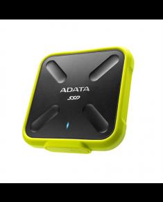 ADATA External SSD SD700 1000 GB, USB 3.1, Yellow/Black
