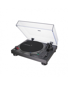 Audio Technica AT-LP120XUSB Turntable, Direct-Drive (Analog & USB), Black