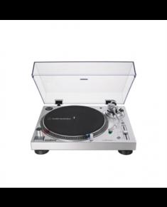 Audio Technica AT-LP120XUSB Turntable, Direct-Drive (Analog & USB), Silver Audio Technica