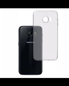 3MK Clear Case Back cover, Samsung, Galaxy S7, TPU, Transparent