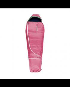 Gruezi-Bag Biopod Wolle Kids World Traveller, Sleeping bag, 140 – 180 x 65 x 45 cm, Claret Red