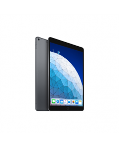 "Apple iPad Air 10.5 "", Space Gray, Retina display, 2224 x 1668 pixels, A12 Bionic chip with 64‑bit architecture; Neural Engine; Embedded M12 coprocessor, 64 GB, Wi-Fi, 4G, Front camera, 7 MP, Rear camera, 8 MP, Bluetooth, 5.0, iOS, 12"
