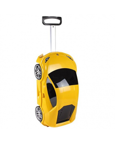 ridaz Lamborghini Huracan Kids Travel Luggage, Yellow