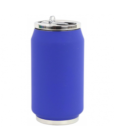 Yoko Design Soft Touch 1713 Isotherm tin can, Night blue, Capacity 0.28 L