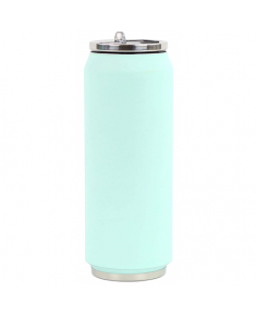 Yoko Design Soft Touch 1710 Isotherm tin can, Soft Mint, Capacity 0.5 L