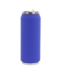 Yoko Design Soft Touch 1714 Isotherm tin can, Night Blue, Capacity 0.5 L