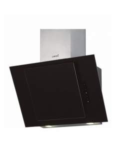 CATA CERES 600 XGBK/L Wall mounted, Width 60 cm, 560 m³/h, Black Glass, Energy efficiency class E, 63 dB