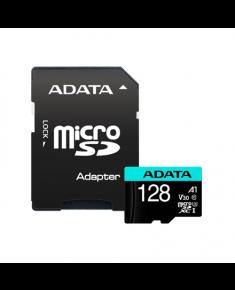 ADATA Premier Pro UHS-I U3 128 GB, micro SDXC, Flash memory class 10, with Adapter
