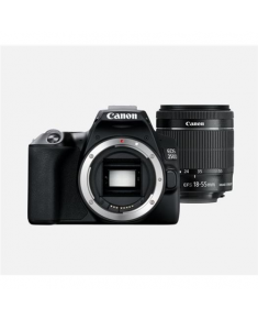 "Canon EOS 250D + 18-55mm IS STM SLR Camera Kit, Megapixel 24.1 MP, ISO 25600, Display diagonal 3.0 "", Wi-Fi, Video recording, Black"