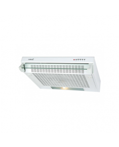 CATA Hood F-2060 Conventional, Energy efficiency class C, Width 60 cm, 195 m³/h, Mechanical control, LED, White