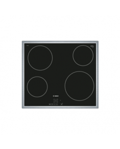 Bosch Hob PKE645B17E Induction, Number of burners/cooking zones 4, Black, Display, Timer